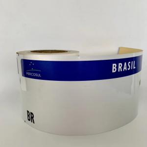 Car License Plate Grade Reflective Sheeting for Brazil