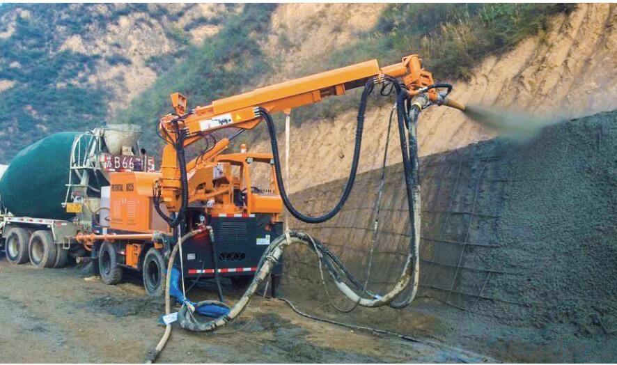 Shortcrete Robot for Tunnel and Mining KC2012W