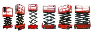 CMAX Manul Scissor Lift from 300kg to 1000kg