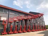 CMAX single mast aluminium platform with new design