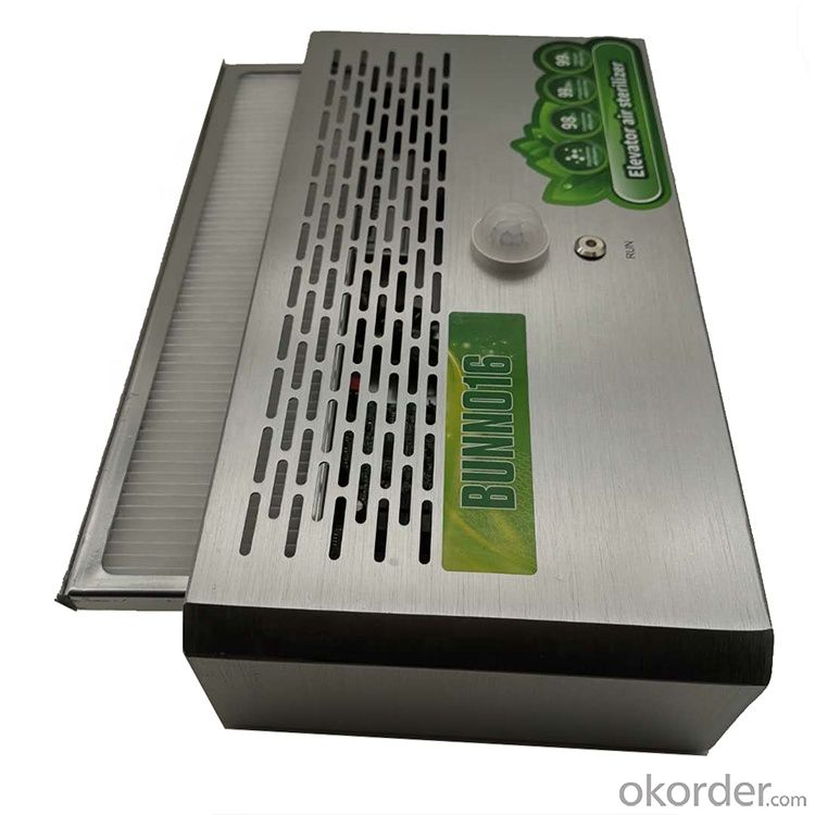 Elevator air virus Sanitizer for air purifier, virus Filter, sterilization, freshener