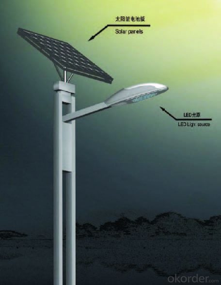 CNBM SOLAR STREET LIGHT ALL IN ONE & SEPARATE