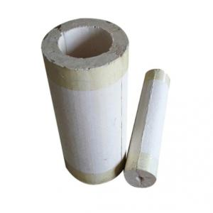 High Temperature Resistant Calcium Silicate Pipe 650 Degrees Lightweight