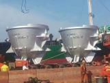 Slag pot for metallurgy industry, for steel plant, olla de escoria