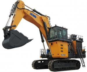 XE3000 MIning Excavator hydraulic excavator power of motor is 1193KW bucket capacity is 14m3