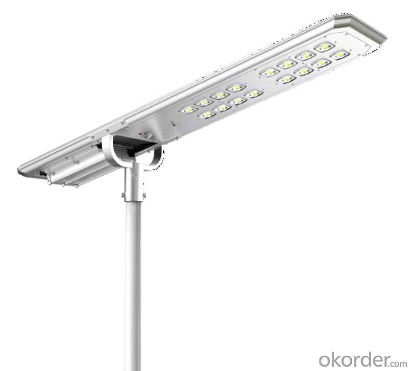 ATLAS series integrated solar street light