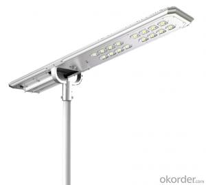 ATLAS series integrated solar street light
