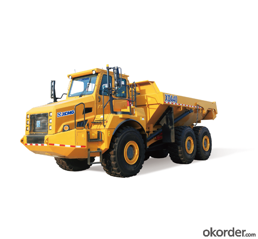 XCMG ELECTRIC DRIVE DUPM TRUCK FOR MINING