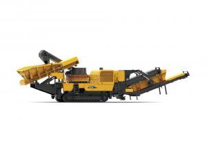 Jaw crushing mobile crusher used on mining model XPE0810