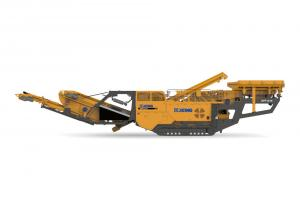 Jaw crushing mobile crusher used on mining model XPE0810