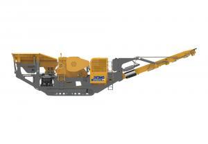 Jaw crushing mobile crusher used on mining XPE0912