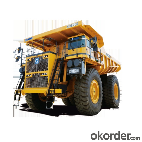 XDE200 Electric Drive Dump Truck Highlights