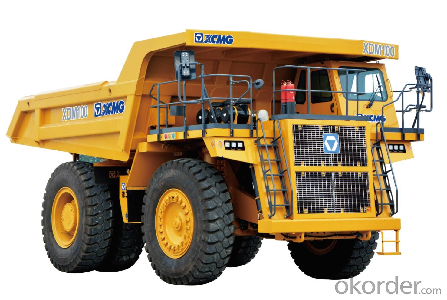 XDM100 MINE SUPER TRUCK XCMG ELECTRIC  INTELLIGENT BRAKE SYSTEM