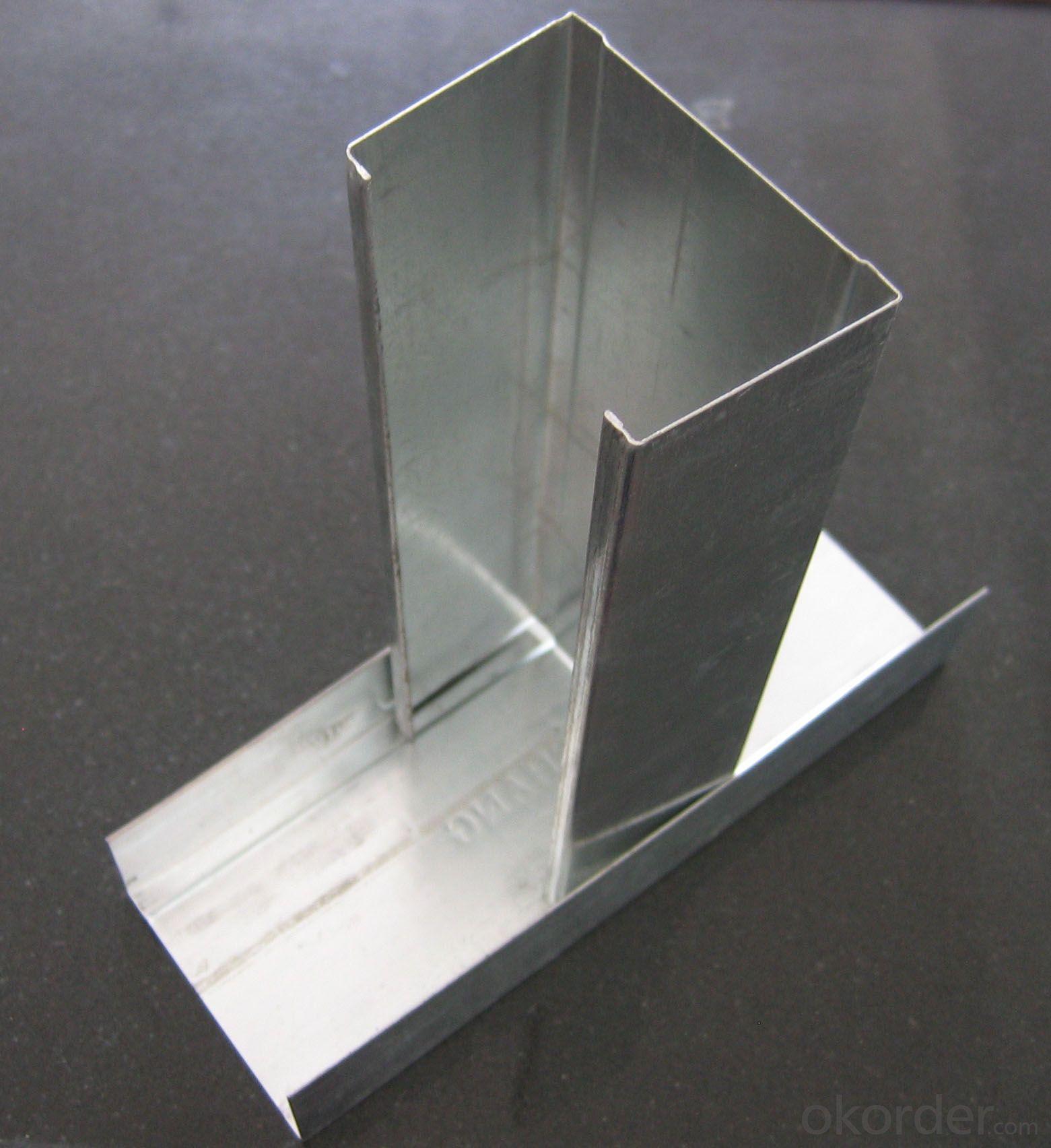 light steel keel galvanized drywall metal stud and track