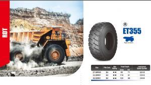 Tire for Mining truck mining loader SUPER ROCK, FORT RDT, SUPER RDT, ETDT, SUPER TRAC