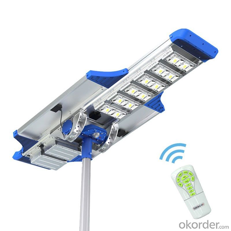 Elite series solar street light all in one type 60w 80w 100w 120w
