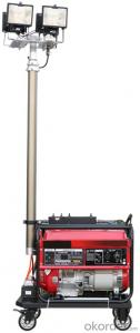 Mobile Lighting Tower Generator Set 2.8KW and 5.0KW