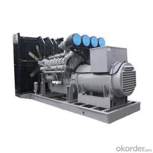 Open Type Perkins Diesel Generating Set  for Building Use