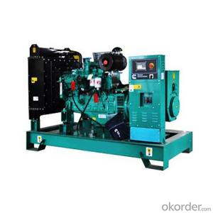 Open Type  Diesel Generating Set for Power Supply