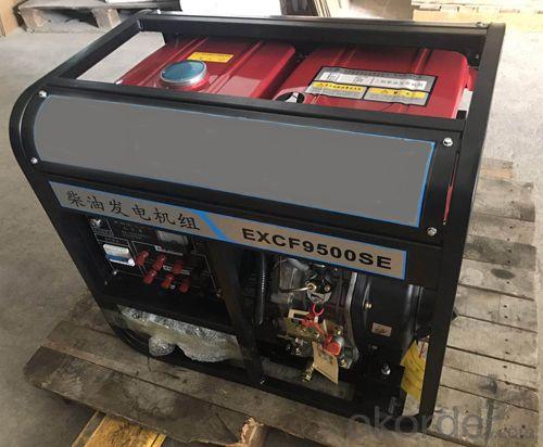 Portable Diesel Generator Set 3KW to 7.5KW