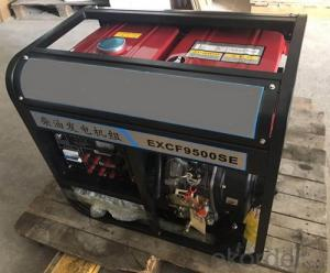 Portable Diesel Generator Set 3KW to 7.5KW
