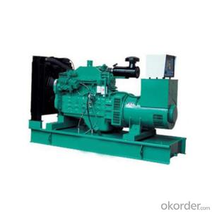 Open Type Import Cummins Diesel Generating Set