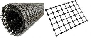 PP Biaxial Geogrid 30kn/30kn for Road Reinforcement Project