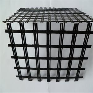 Fiberglass Geogrid  with Asphalt Coating for Reinforcement
