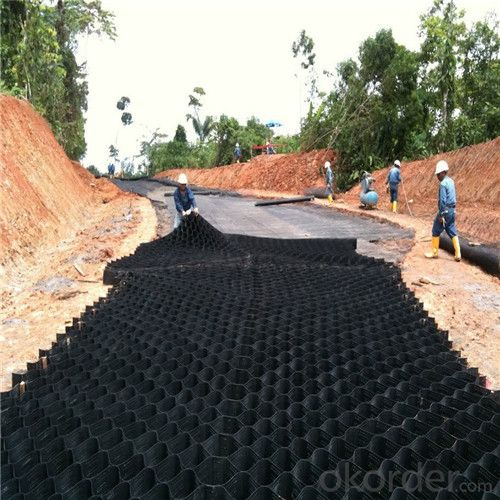 Geocell for Road Construstion and Wall Reinforcement