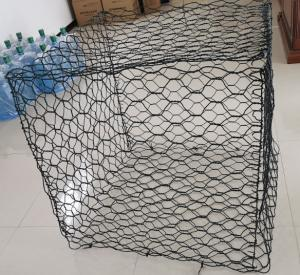 PVC Coated Hexagonal Gabion Mesh Stone Cage