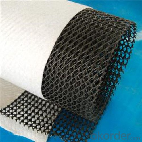 Three-Dimensional Composite Drainage by Geonet and Geotextile