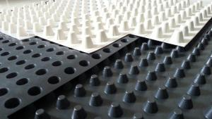 HDPE Drainage Sheet Dimple Drain Board For Roof Garden