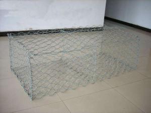 Galvanized Gabion Mesh Used in Strengthening of Slopes