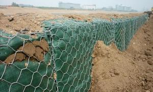 Galvanized Gabion Mesh Used in Strengthening of Slopes
