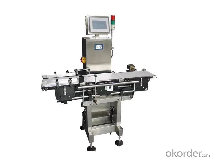 Check weigher measuring series machines check-weighing
