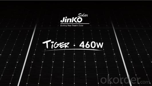 Jinko Solar Panel Tiger Bificial Double Glass 460W