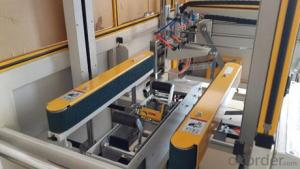 Automatic molding bottom sealing machine for cartons