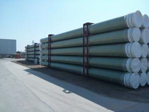 Glass-fiber Reinforced Epoxy Pipe System LNG 80mm