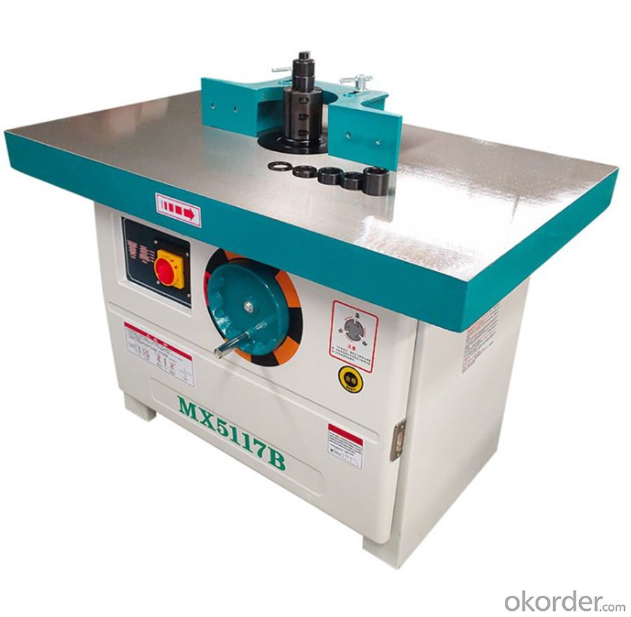 MX5117B wood shaper spindle moulder milling machine