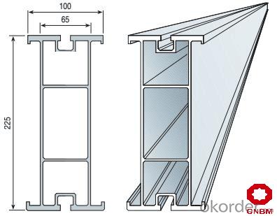 T225 beam Aluminum beam DU-AL beams for concrete formwork scaffolding system light weight beam