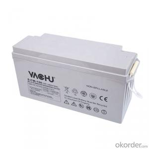 Lead Acid AGM Battery 12V150AH Rechargeable Storage Maintenance free