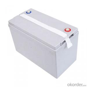 Lead Acid Battery AGM 12V100AH Rechargeable Storage Maintenance free