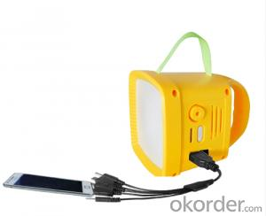 Solar Lantern with Radio and MP3 hot sale