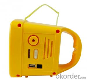 Solar Lantern with Radio and MP3 hot sale