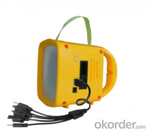 Solar Powered Multifunctional Music Camping Lantern with FM Radio MP3 Mobile Charger