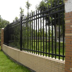 Garden Fireproof Fence Zinc Steel Villa Guardrail for Home Safety Residential Courtyard
