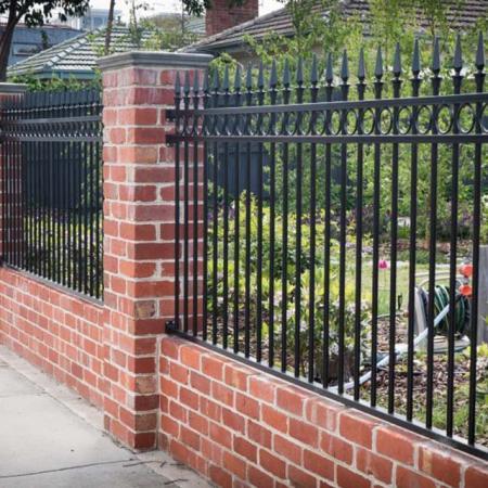 Garden Fireproof Fence Zinc Steel Villa Guardrail for Home Safety Residential Courtyard