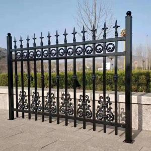 Garden Fireproof  Iron Metal Villa Guardrail for Home Safety Residential Courtyard Fence