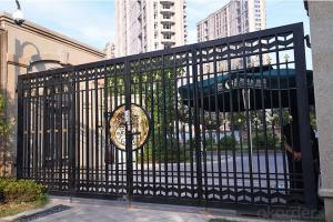 Modern Sliding Aluminum Gate House Main Gate  Steel Iron gate