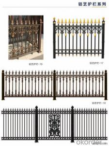 Aluminum Luxury Gate Decorative Garden Fence Courtyard Yard Gates